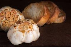 Roasted garlic Stock Photos