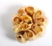 Roasted garlic with shadow stock photos