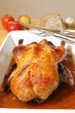Roasted goose Stock Photo