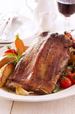 Roasted Goose Breast Fillet Royalty Free Stock Image