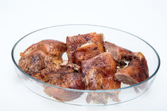 The roasted goose Stock Image