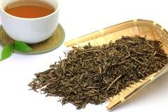 Roasted green tea Royalty Free Stock Photography