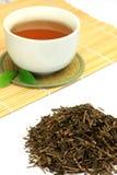 Roasted green tea Royalty Free Stock Photos