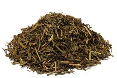 Roasted green tea Royalty Free Stock Image