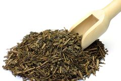 Roasted green tea Royalty Free Stock Photo