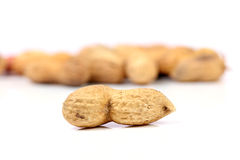 Roasted groundnuts Stock Photo