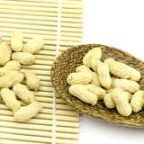 Roasted groundnuts Royalty Free Stock Photos