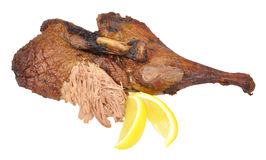 Roasted Half Duck royalty free stock image