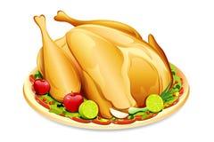 Roasted Holiday Turkey Royalty Free Stock Photo