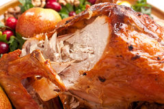 Roasted Holiday Turkey Royalty Free Stock Photography