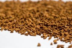 Roasted instant coffee powder Stock Photos