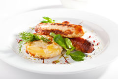 Roasted Italian Sausages Stock Images