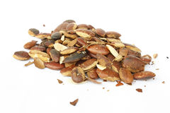 Roasted Kayu Seeds Stock Photo