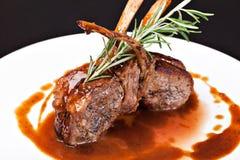 Roasted Lamb Chops Royalty Free Stock Image