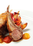 Roasted Lamb Chops Royalty Free Stock Photo