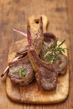 Roasted lamb chops Stock Photos