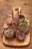 Roasted lamb chops Stock Photos
