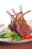 Roasted lamb rib Royalty Free Stock Photos