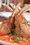 Roasted lamb rib Royalty Free Stock Photos