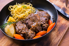 Roasted lamb steak Stock Images