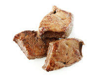 Roasted liver Royalty Free Stock Photos