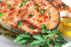 Roasted lox Stock Images