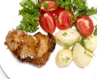 Roasted meat Royalty Free Stock Image