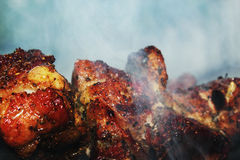 Roasted meat Stock Images