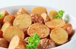 Roasted new potatoes Stock Photos