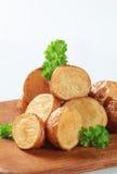 Roasted new potatoes Stock Photos