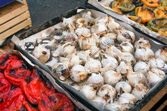 Roasted onions Royalty Free Stock Photography