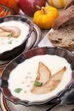 Roasted Parsnip and Pear Soup Royalty Free Stock Images