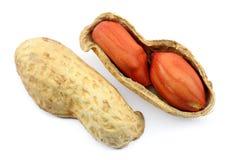 Roasted peanut shell royalty free stock photography