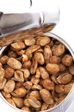 Roasted peanuts Royalty Free Stock Photography