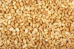 Roasted peanuts background Stock Images