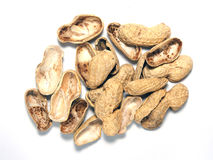 Roasted peanuts  Isolated Stock Photography
