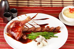 Roasted peking duck Stock Photography