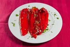 Roasted pepper Royalty Free Stock Photography