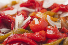 Roasted pepper salad series 03 Stock Photography