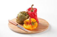 Roasted peppers Stock Photography
