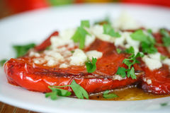 Roasted Peppers Stock Images