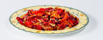 Roasted peppers ( Sicilian tradition ) 2 Stock Photo