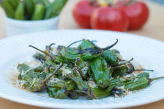 Roasted peppers Royalty Free Stock Images