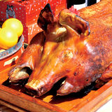 Roasted pig Royalty Free Stock Photo