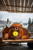 Roasted Pig Stock Image