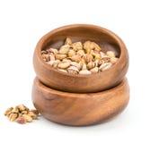 Roasted pistachio on bowl Royalty Free Stock Photo