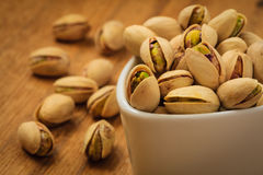 Roasted pistachio nuts seed with shell Stock Photo