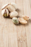 Roasted Pistachio Nuts Royalty Free Stock Photo