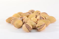 Roasted pistachios Stock Photo