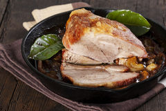 Roasted pork Royalty Free Stock Images